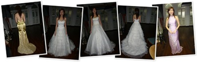 View photoshoot gowns
