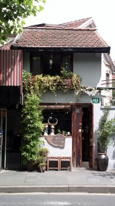 Quaint building at French Concession area.