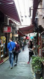 Narrow streets of Tianzifang