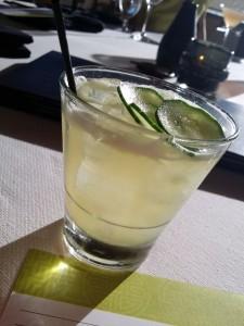 Honeydew Cucumber Sour - super refreshing!
