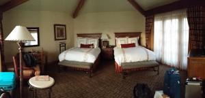 JW Marriott Camelback Resort & Spa - really beautiful hotel.